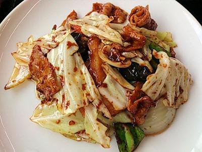台湾料理豊源日替りランチホイコーロ