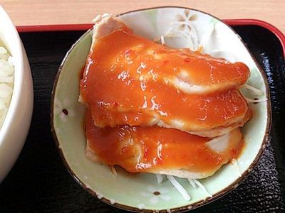 台湾料理豊源日替りランチ蒸し鶏