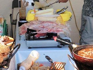 姫路食博2013かんべえくんバーガー