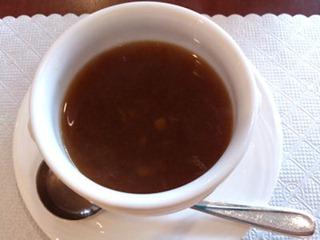 カジュアルダイニングリヴィエールランチのスープ