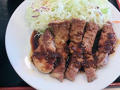 松屋/加古川平岡町店トンテキ定食