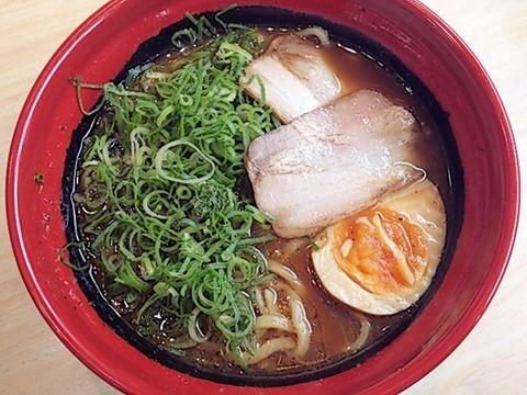 くら寿司7種の魚介とんこつ醤油らーめん