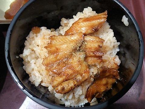 まねきダイニングミニ穴子丼セットのミニ穴子丼