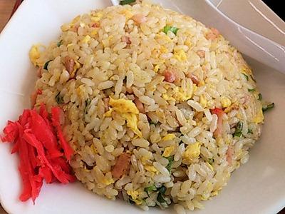 台湾料理豊源麺飯セットの五目炒飯
