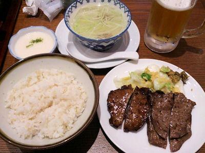味の牛たん喜助牛たん焼ミックス定食
