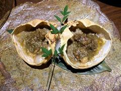 KICHIRIオマール海老の鬼殻焼コース/蟹身たっぷり蟹味噌甲羅焼き