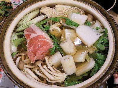 和ごころ万彩山海ちゃんこコースの鍋