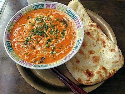インド・ネパール料理パシュパティネパールカレーラーメンセット