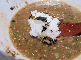 ラー麺ずんどう屋極濃あつ盛り豚骨つけ麺(並盛)