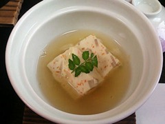 大黒天健康と美容の為の2月の昼会席煮物蓮根百合根豆腐
