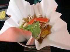 大黒天健康と美容の為の2月の昼会席台物蟹すき