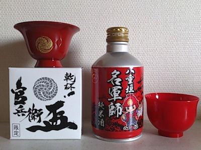 八重垣 純米酒 名軍師 ボトル缶
