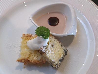 TANTO屋ビーフシチューセットのデザート