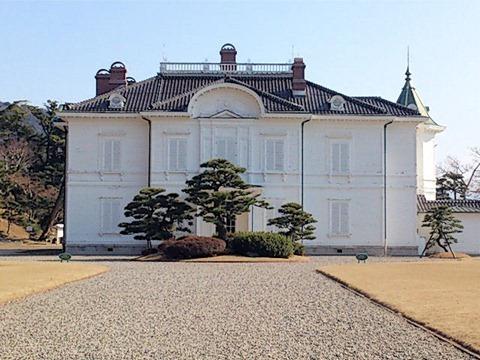 鳥取城跡見学仁風閣