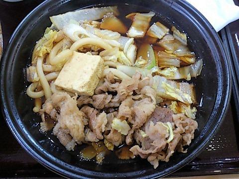 すき家牛すき鍋定食