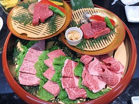 肉の館羅生門お祝い盛