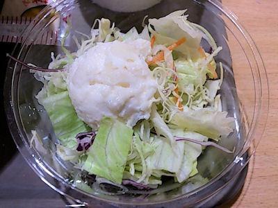 スガキヤ特製ラーメンサラダセットのポテトサラダ