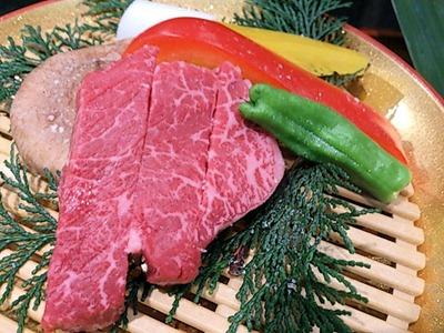 肉の館羅生門お祝い盛ヘレ