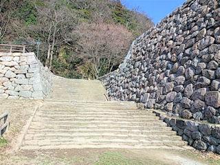 鳥取城跡見学