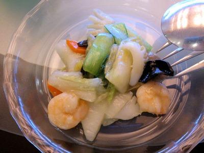中国レストラン海螢ランチオーダーバイキング八宝菜