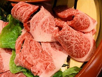 肉の館羅生門お祝い盛焼きしゃぶ