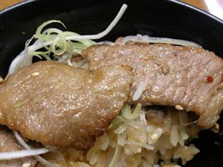 ちゃんぽん亭特選宮崎牛の焼き牛丼
