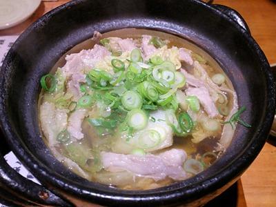 鉄板伊酒屋ゑべっさん豚バラと白菜の重ね鍋