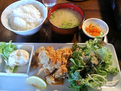 焼肉酒場BANG鶏カラアゲセット