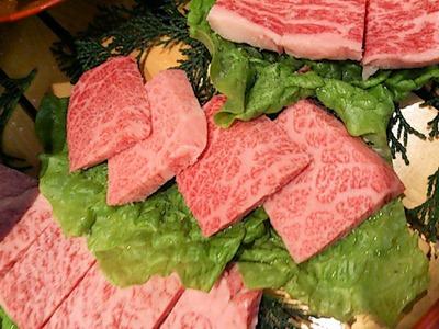 肉の館羅生門お祝い盛上カルビ