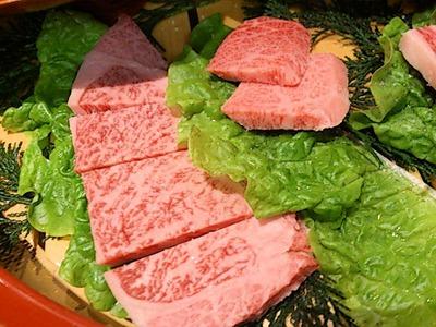 肉の館羅生門お祝い盛特上ロース