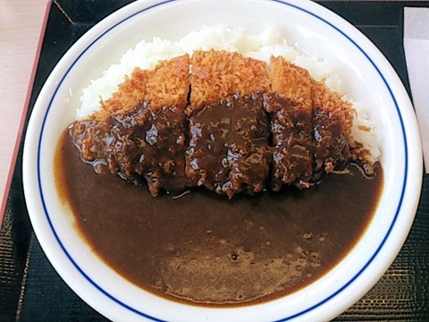 かつや東加古川店カツカレー(竹)