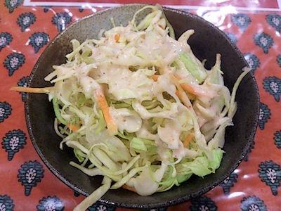KARKIカレーライス日替わりスペシャルセットのサラダ
