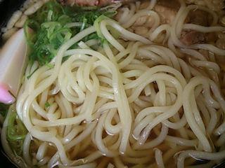 麺処木八境港産鰆の生姜旨煮えきそば