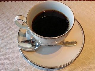 リヴィエール食後のコーヒー