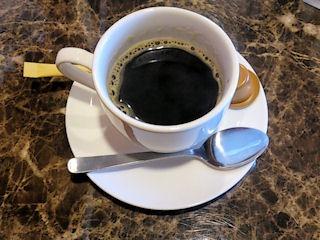焼肉ダイニング良食後のコーヒー
