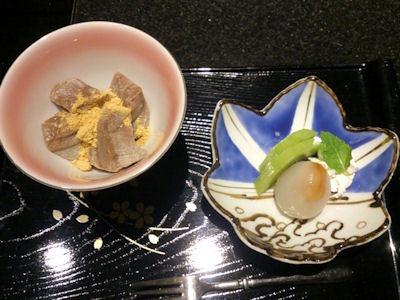 日本料理赤石デザート