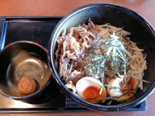 らーめん八角鶏白湯和え麺