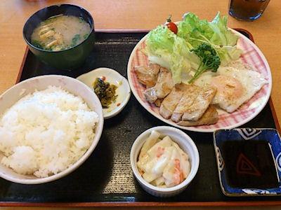 母ちゃんの食堂トンテキ定食5
