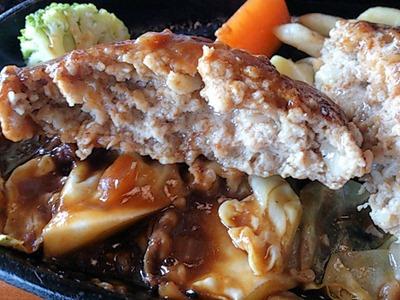 焼肉レストランよつば亭ハンバーグランチ