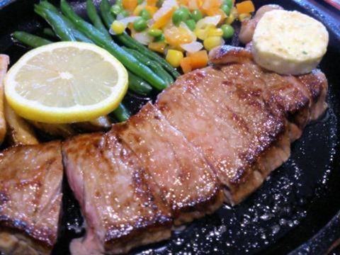 和牛焼肉本舗千久サーロインステーキ定食