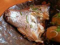 海鮮レストラン魚魚/鯛御膳の煮付