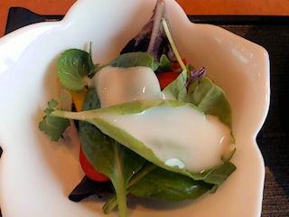 海鮮レストラン魚魚/鯛御膳のサラダ