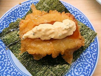 くら寿司『極上ふぐフェア』チキン南蛮手巻き寿司