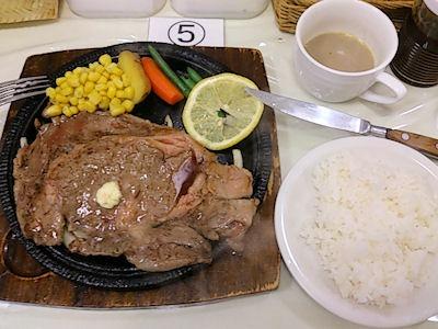 【帯広】カウベルハウス鉄板牛ステーキ