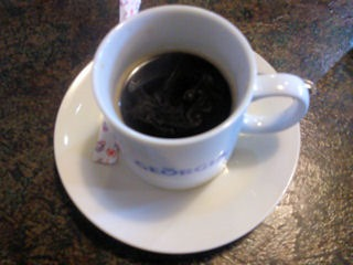 志方亭志方亭御膳の食後のコーヒー