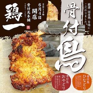 鶏専門店「骨付鳥本舗 鶏一/姫路總本店」チラシ