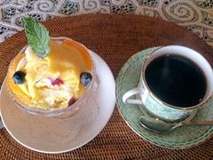 Ship Shape Bコース/紅茶のジュレとオレンジのパフェ