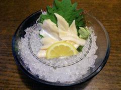 播州海鮮炉端碇いかり屋穴子のお刺身