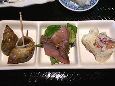 魚屋高浜製作所本日の日替り海老フライ定食