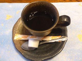 生州割烹輝髙葉月の食後のコーヒー